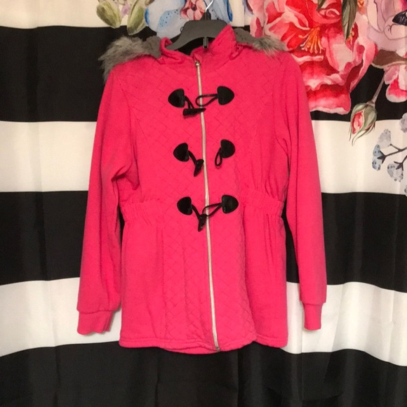 Other - Pink jacket with hood